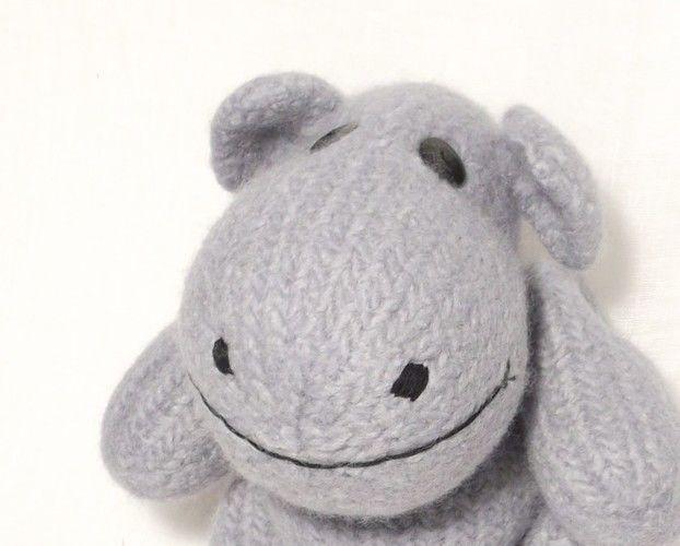 Makerist - Happy Hippo  - Knitting Showcase - 1