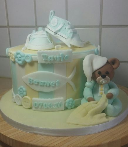 Makerist - Tauftorte für Bennet - Torten, Cake Pops und Cupcakes - 1