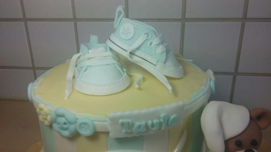 Makerist - Tauftorte für Bennet - Torten, Cake Pops und Cupcakes - 3