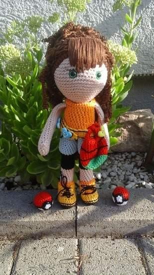 Makerist - Lola Pokemontrainerin  - 1
