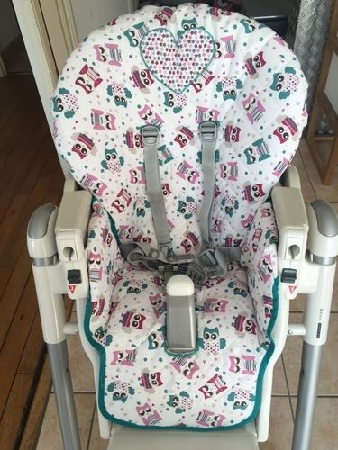 Makerist - Housse de chaise haute prima pappa Peg Perego - Créations de couture - 1