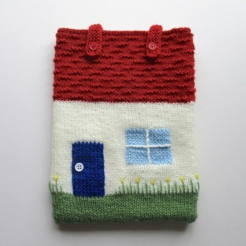 Makerist - Cottage Tablet Cosy - Knitting Showcase - 1