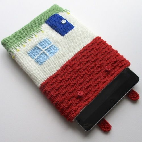 Makerist - Cottage Tablet Cosy - Knitting Showcase - 2