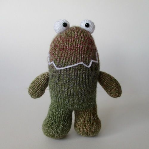 Makerist - Happy Monster - Knitting Showcase - 1