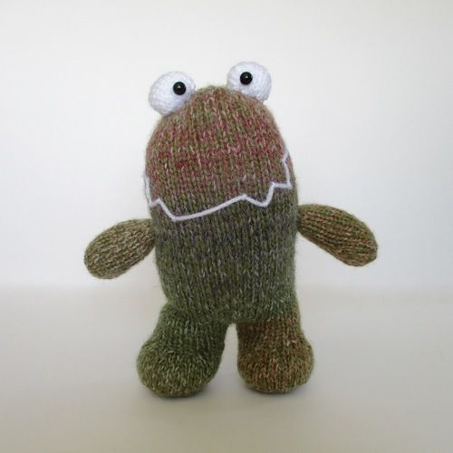 Makerist - Happy Monster - Knitting Showcase - 3