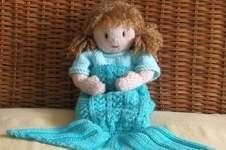 Makerist - Josie's  Mermaid  Blanket - 1