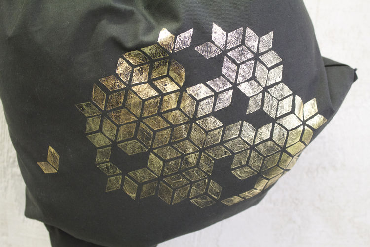 Makerist - #2 Metallfolie // Turnbeutel - DIY-Projekte - 2