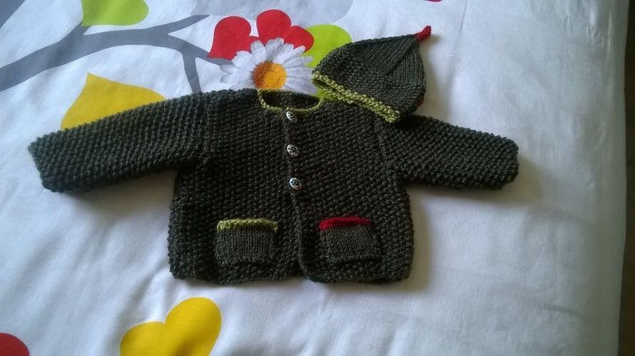 Makerist - Un petit bonhomme au chaud à l'automne  - Créations de tricot - 1
