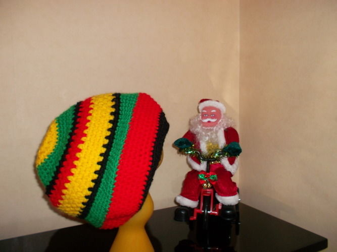 Makerist - Bonnet Rasta crocheté - Créations de crochet - 1