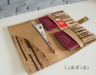 Makerist - Reise-Etui aus Snap Pap und Kork - 1