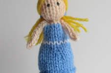 Makerist - Goldilocks Finger Puppet - 1