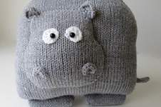Makerist - Hippo Cushion - 1