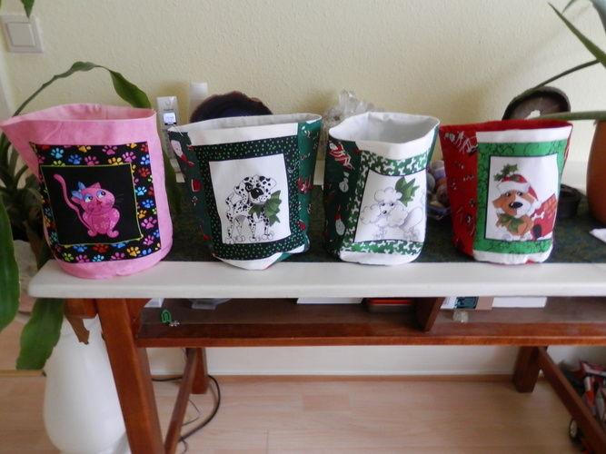 Makerist - Weihnatsutensilos für Kinder  - Nähprojekte - 1