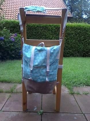 Makerist - Rucksack Pakke abgewandelt - 1