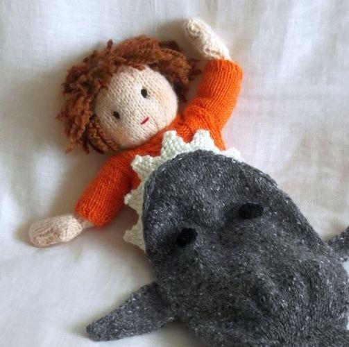 Makerist - Shark Attack dolls blanket - Knitting Showcase - 1