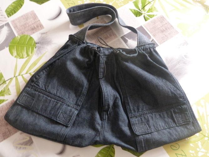 Makerist - Sac bouffant en Jeans - Créations de couture - 1