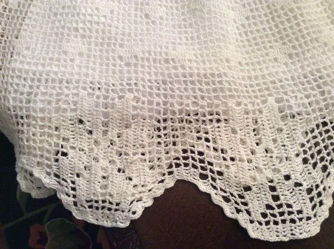 Makerist - poinsettia christening gown, hat and headband - Crochet Showcase - 2