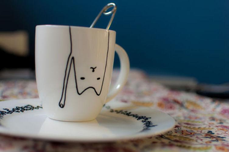 Makerist - Porzellan-Malerei für Crazy Cat Ladies - DIY-Projekte - 1