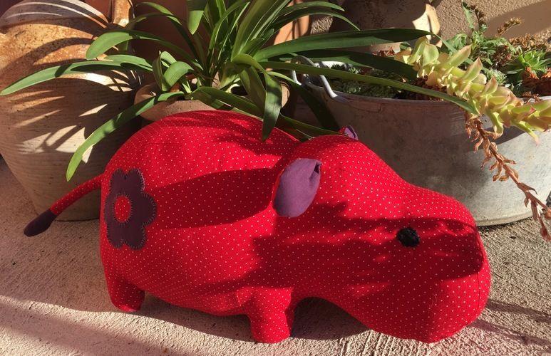 Makerist - Petit rhino devient hippo ! - Créations de couture - 1