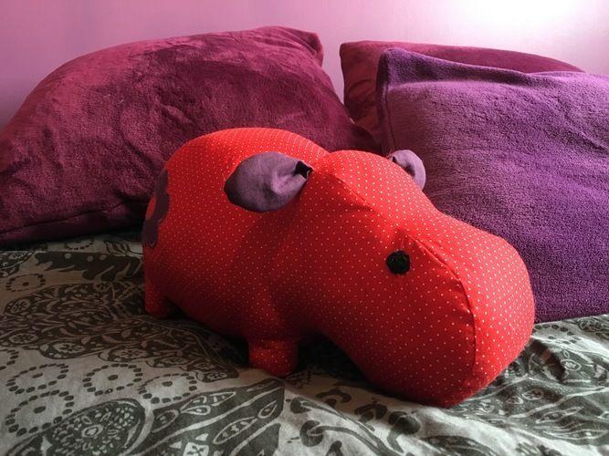 Makerist - Petit rhino devient hippo ! - Créations de couture - 2