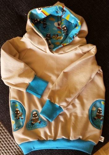 Makerist - Baby-Hoodie Pittiplatsch - Nähprojekte - 1
