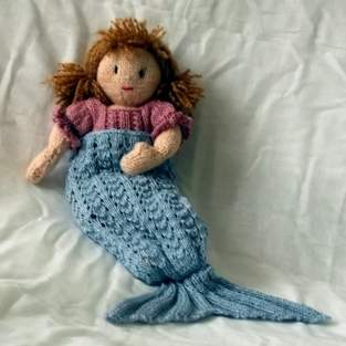 Sparkle Mermaid tail blanket