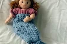 Makerist - Sparkle Mermaid tail blanket - 1