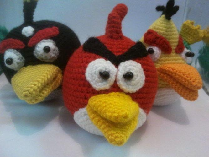 Makerist - Angry Birds - Häkelprojekte - 1