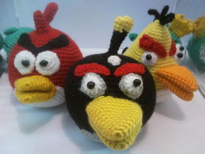 Makerist - Angry Birds - Häkelprojekte - 2
