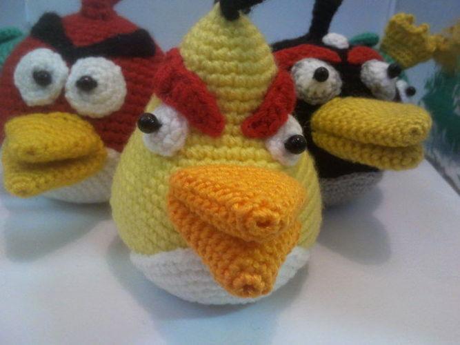 Makerist - Angry Birds - Häkelprojekte - 3