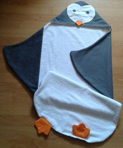 Makerist - Cape de bain pingouin - Créations de couture - 1