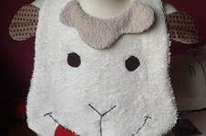 Makerist - Bavoir mouton - 1