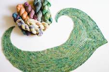 Makerist - Tuch aus einem Strang Sockenwolle °Federleicht° - 1