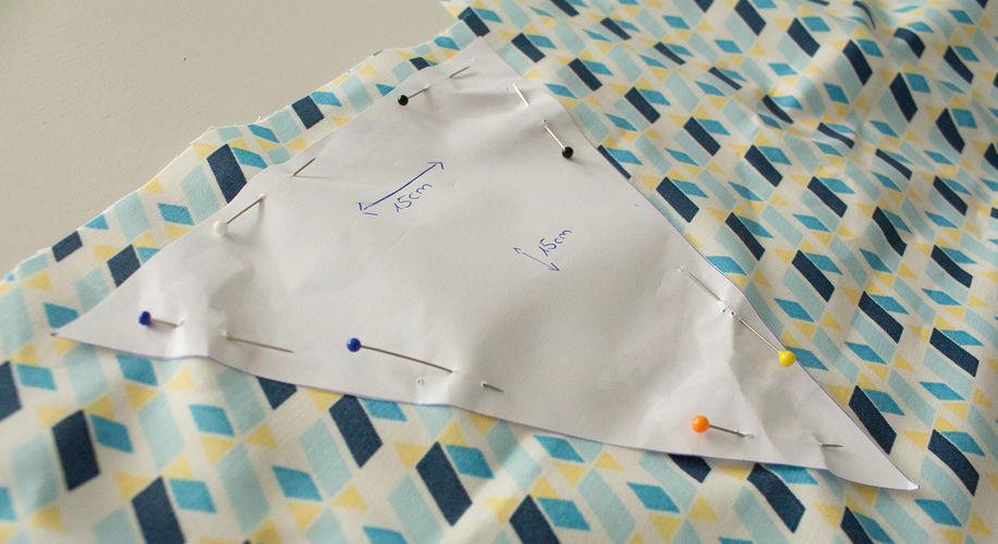 Makerist - Mini-DIY: eine Wimpelkette nähen - Nähprojekte - 2