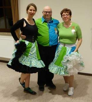 Squaredance-Outfit im Partnerlook