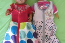 Makerist - zwei Schlafsäcke mit Reißverschluss - 1
