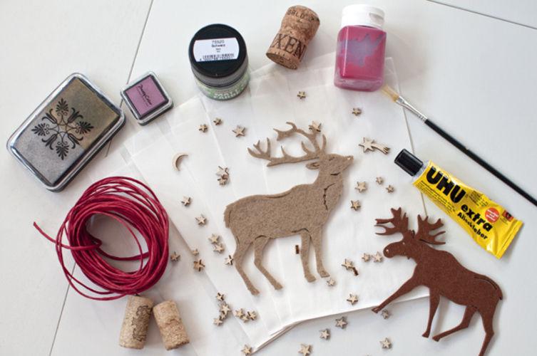 Makerist - Adventskalender mit Rentieren und Elchen - DIY-Projekte - 2