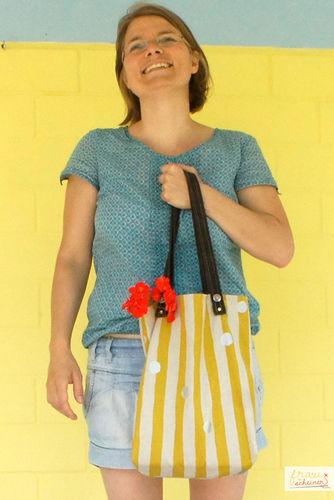 Makerist - Den Sommer einfangen: Stoffbeutel nähen - Nähprojekte - 2