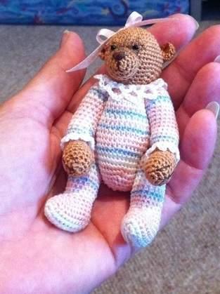 Olivia Minature Bear