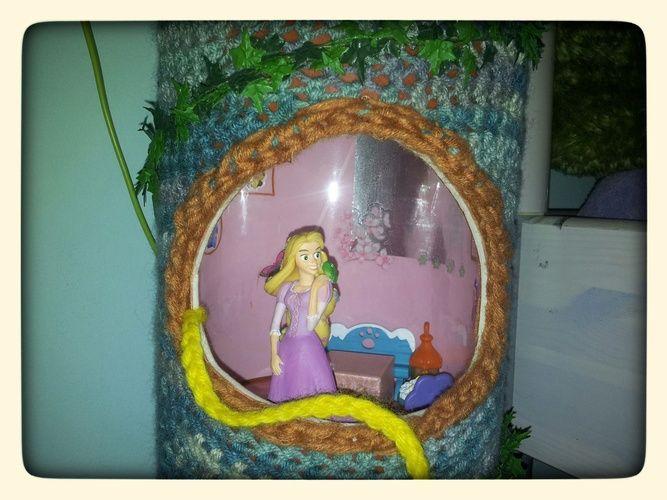 Makerist - Rapunzelturm im Häkelgestrüpp - DIY-Projekte - 2