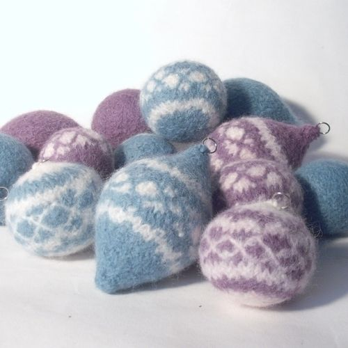 Makerist - Nordic Style Christmas Baubles - Knitting Showcase - 1