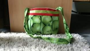 Apfeltäschlein und Erdbeertäschlein