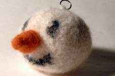 Makerist - Snowman Christmas Bauble - 1