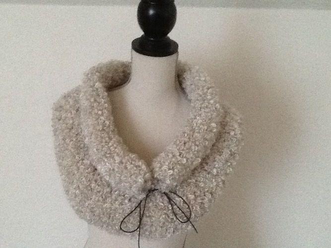 Makerist - Snood tout doux - Créations de tricot - 1
