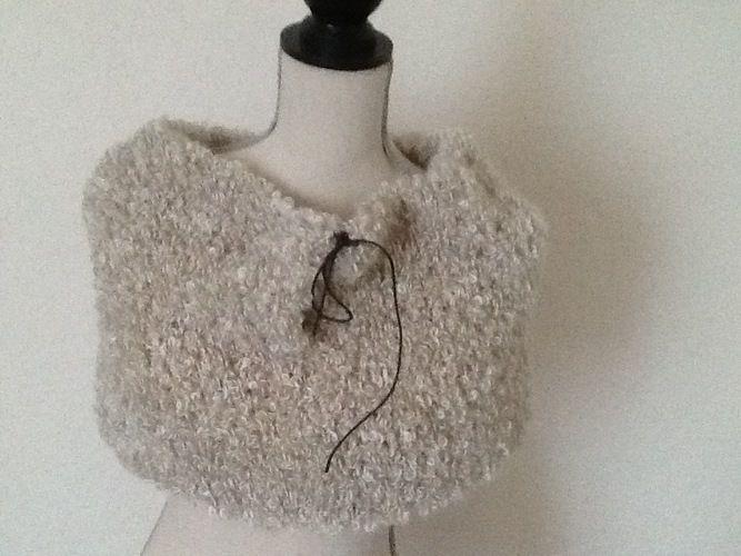 Makerist - Snood tout doux - Créations de tricot - 2