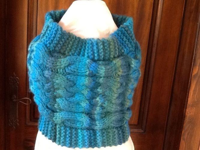 Makerist - Snood tout doux - Créations de tricot - 3