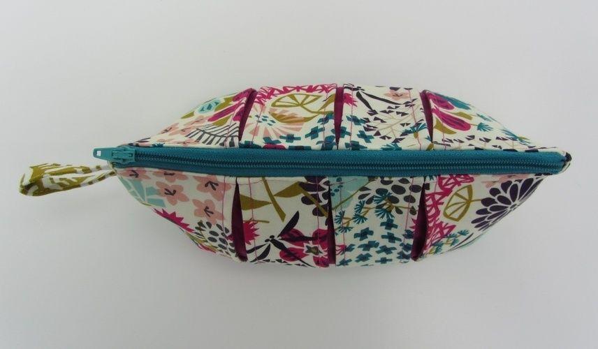 Makerist - Faltschick Täschchen in Blütenpracht - Nähprojekte - 3
