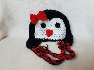 Pinguin-Haube.
