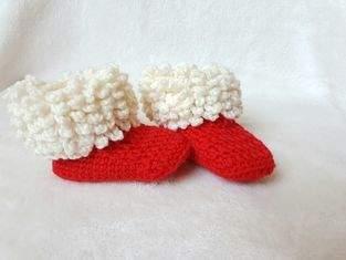 Pelzstiefel oder gehören diese doch den Weihnachtsmann ?
