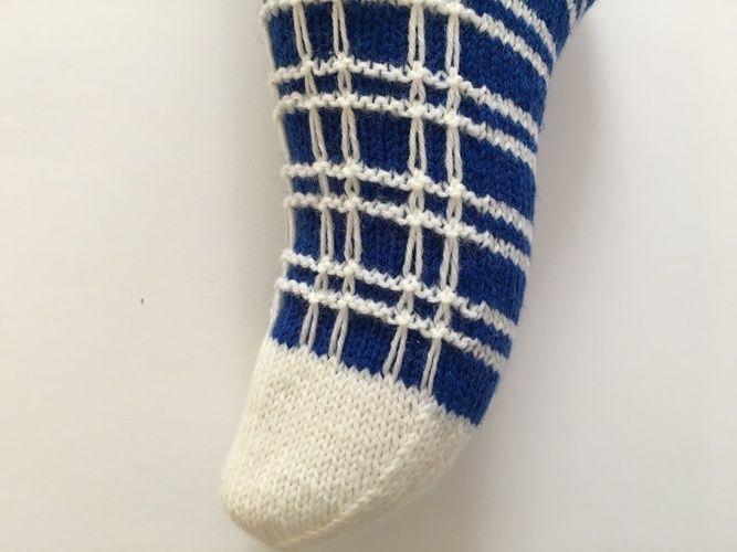 "Makerist - Socken ""zum Quadrat"" - Strickprojekte - 3"
